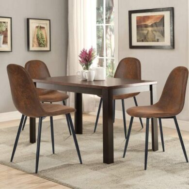 sillas estilo industrial tapizadas