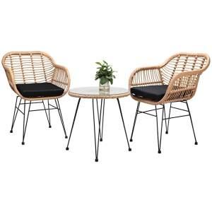 sillón estilo industrial de jardín
