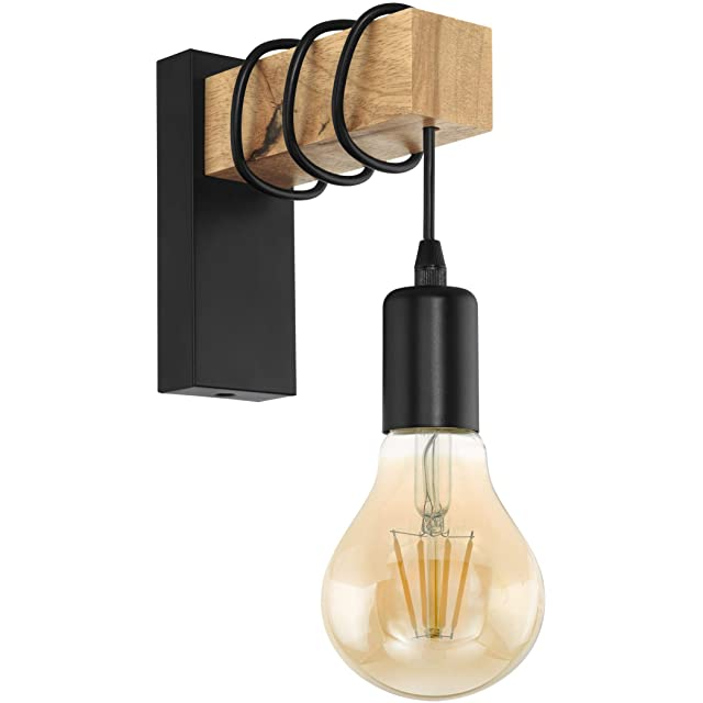lampara de pared industrial