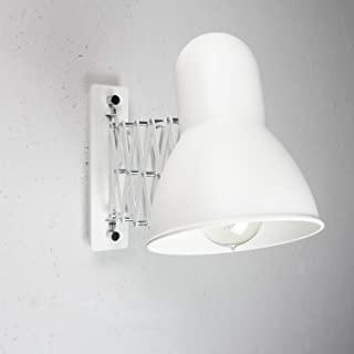 aplique de pared industrial blanco 09