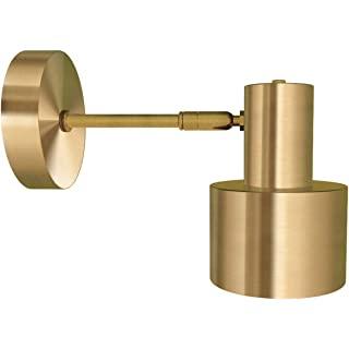 aplique de pared industrial dorado 09