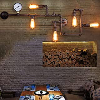 aplique de pared industrial vintage 08