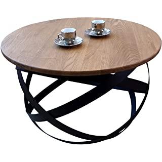 mesa de centro industrial redonda 09