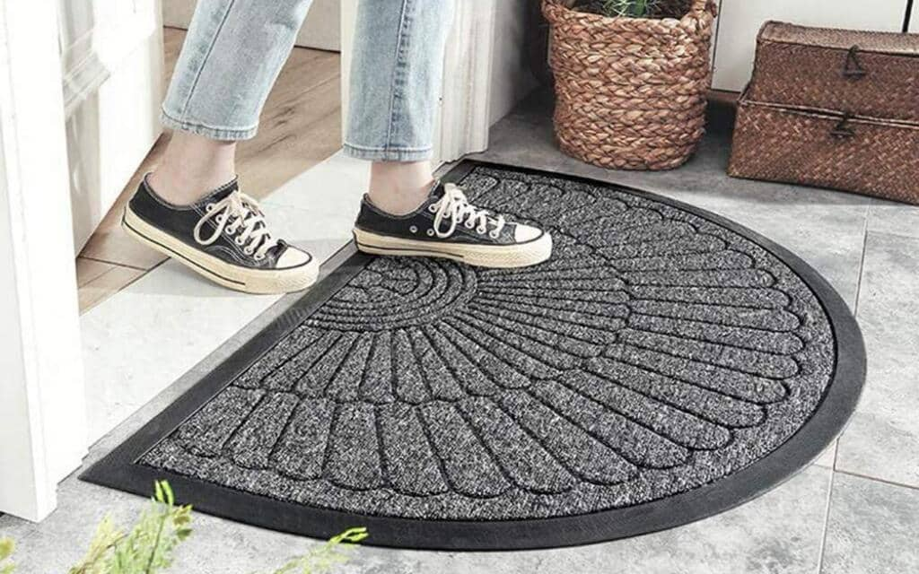 alfombra estilo industrial pequeña