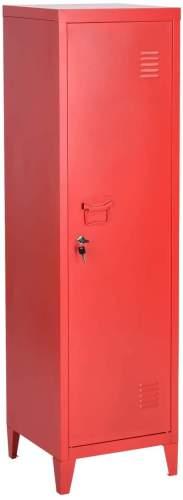 armario industrial rojo