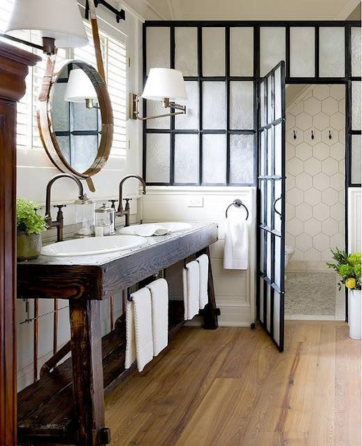 10 Claves para Decorar tu Baño con Estilo Industrial