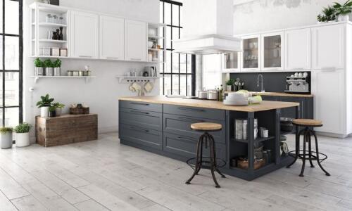muebles de cocina estilo industrial