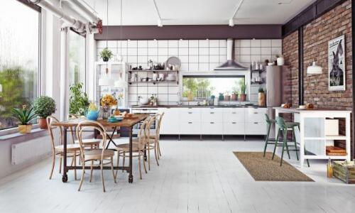 muebles estilo industrial cocina