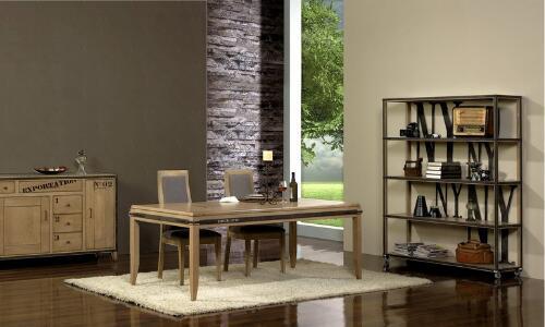 muebles industriales de madera y metal
